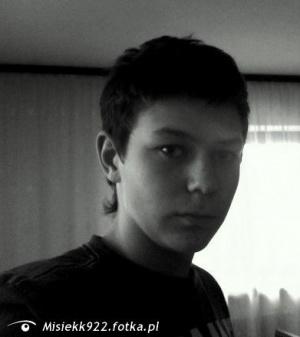 Zdjęcie użytkownika Misiekk922 (mężczyzna), Lipnica Wielka