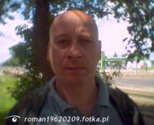 Zdjęcie użytkownika roman19620209 (mężczyzna), Łódź