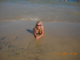 Najładniejsze zdjęcie użytkownika kasiulek01 - na plaży fajnie jest ;)