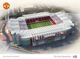 Old Trafford Stadion Manchesteru United