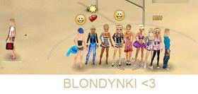 Łap blondynkę!