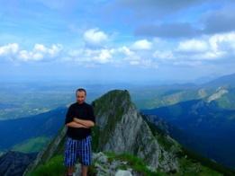 Najładniejsze zdjęcie użytkownika wojtazzz75 - Giewont zdobyty ! Czas teraz na Mount Everest ;) . Moto wyprawa w Tatry 2011.