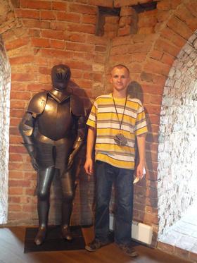 Najładniejsze zdjęcie użytkownika sylvoo - Dwaj rycerze :)    Vilnius 2010