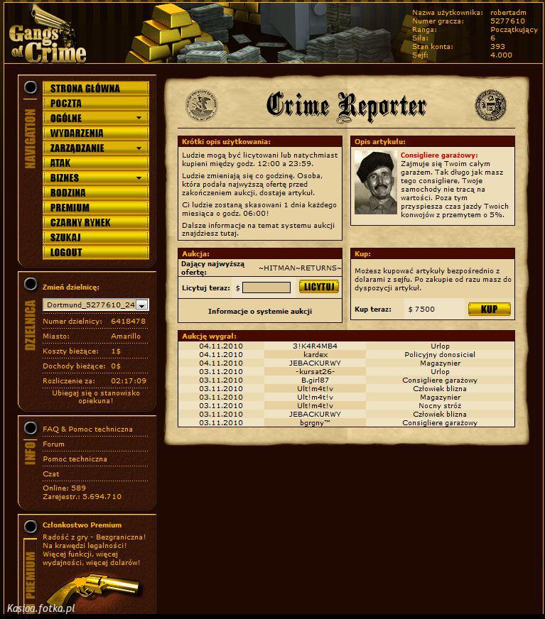 Gangs of crime - Gry - fani gier. - zdjęcie 3
