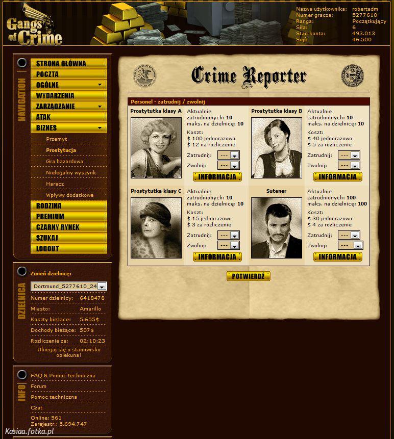 Gangs of crime - Gry - fani gier. - zdjęcie 4