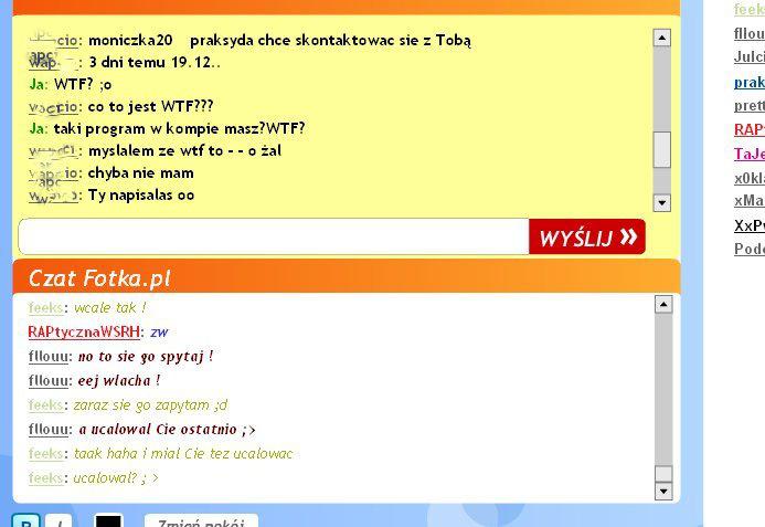 czat rozmowy online Gdańsk