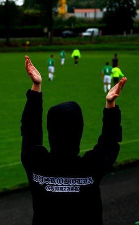 Najładniejsze zdjęcie użytkownika WaSyL10 - Bo dla fanatyka nie liczy się polityka klubowa. Dyskobolia Grodzisk!