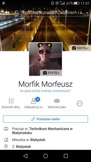 Zdjęcie użytkownika Morfis (mężczyzna), Mońki