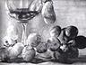 częsc martwej natury-winogrona i szklanka2