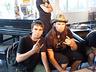 Z Oskarem Monteliusem, gitarzystą zespołu Sabaton